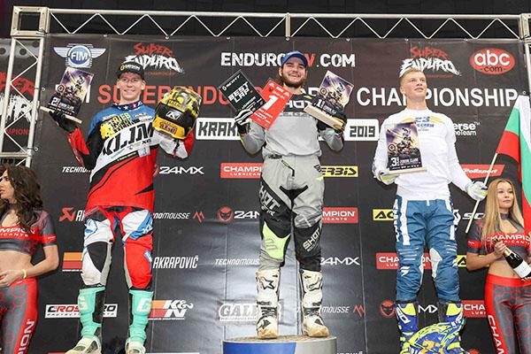 podium Junior Krakow